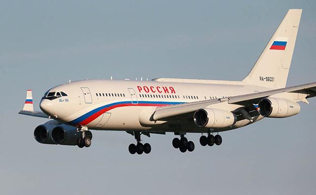 Ил-96-300 борт номер 1 и другие самолеты президента Путина