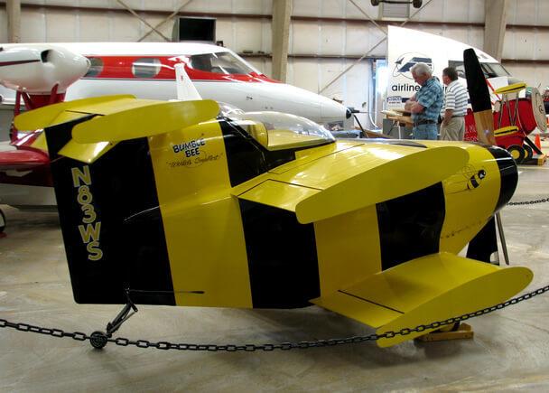 Малая авиация: самый маленький одноместный самолет в мире, легкомоторные пассажирские летательные аппараты России и США