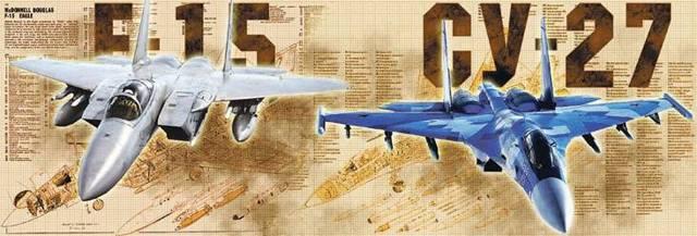 Учебный бой cу-27 и f-15: кто стал победителем на Украине, сравнение советского и американского самолетов
