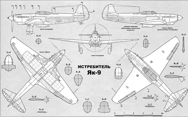 Истребитель Як-9: вооружение самолета, характеристики, история создания и модификации