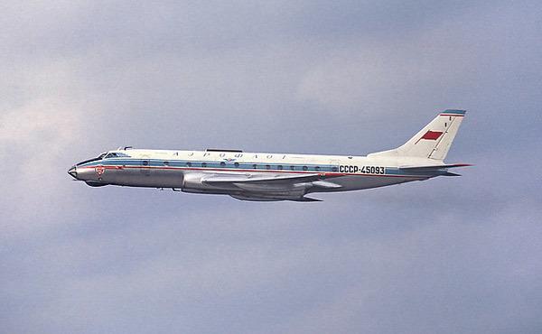 Советский пассажирскийсамолёт Ту-124: история создания, характеристики и модификации