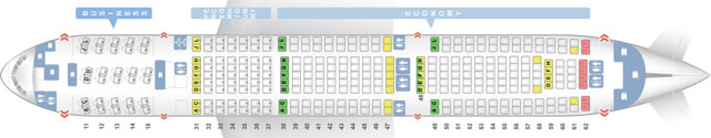 Боинг 777-200: схема салона, расположение лучших мест, характеристики, история создания