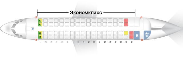 atr 72: схема салона, расположение лучших мест, характеристики самолета и история создания